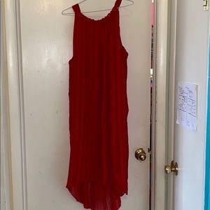 Red Lane Bryant Dress size 22/24